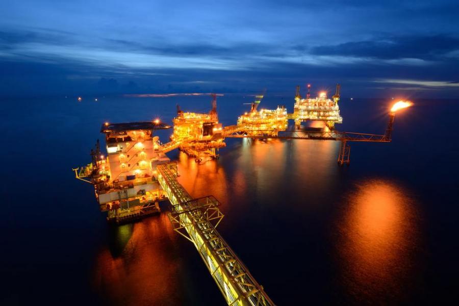 Platforma wiertnicza, wydobycie ropy naftowej