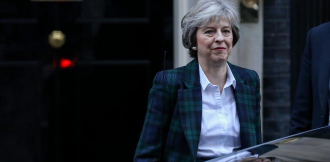 Premier Wielkiej Brytanii Theresa May, Londyn, 17.01.2017