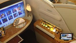 A380 - fotel w klasie premium