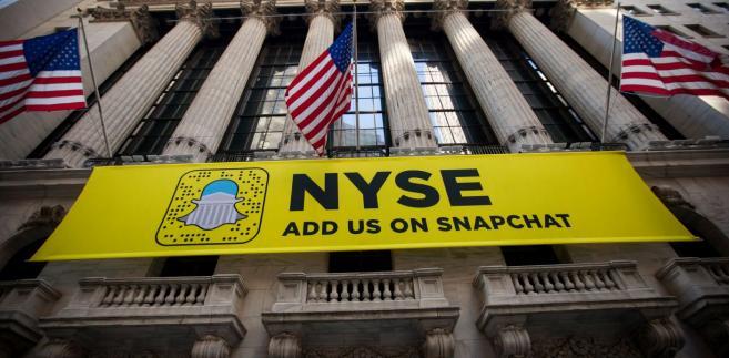 Snapchat debiutuje na giełdzie