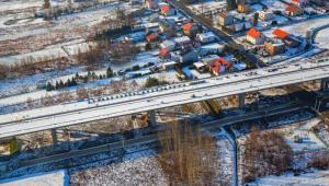 S19 Świlcza-Rzeszów Południe. To jeden z dwóch odcinków Via Carpatia w budowie