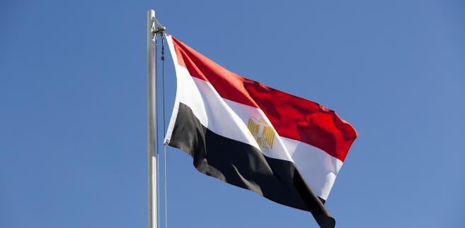 Egipt flaga Egiptu