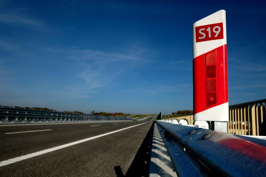 Zakończyły się prace na ponad 6-kilometrowym odcinku drogi ekspresowej S19 od węzła Świlcza do węzła Rzeszów Południe