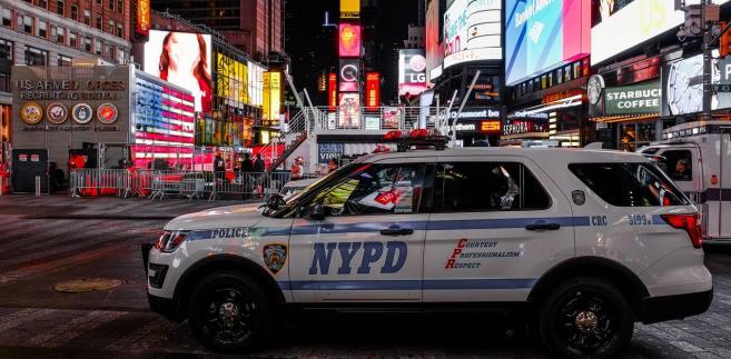 Policja na Manhattanie