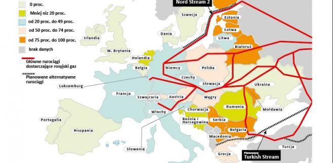 Po 74 Latach Polska Przestanie Kupowac Gaz Z Rosji Oto Mapa