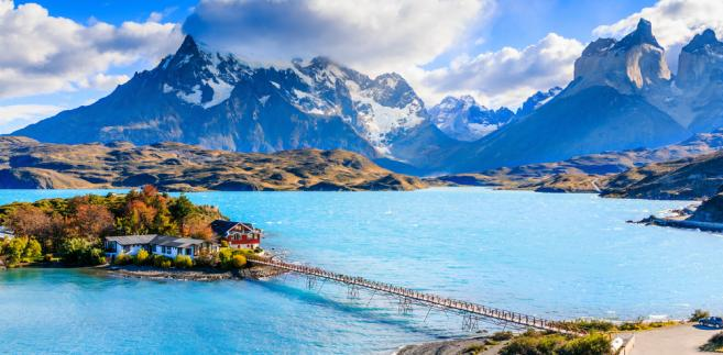 Chile. Park Narodowy Torres del Paine