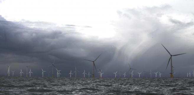 Turbiny wiatrowe w ujściu Tamizy