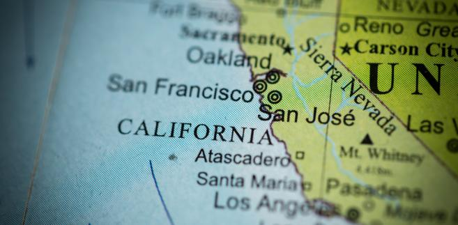 Stan Kalifornia, USA.