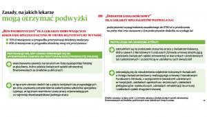 Zasady na jakich lekarze mogą otrzymać podwyżki (c)(p)