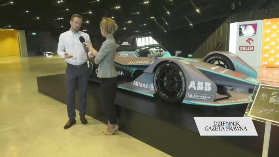 Elektryczny bolid ABB