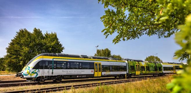 """Bombardier Talent 3 - """"hybryda elektryczna"""" - Źródło: Materiały prasowe Bombardier"""