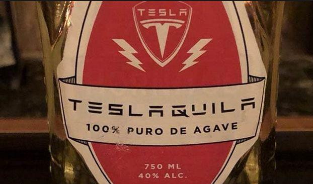 Teslaquila, źródło: Twitter.com/elonmusk/