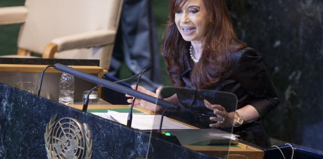 Cristina Fernandez de Kirchner, prezydent Argentyny