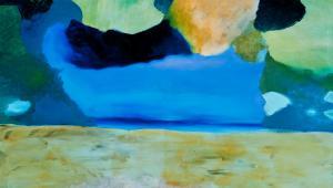 Na zdjęciu obraz jednego z artystów współpracujących z firmą: Jakub Słomkowski, Bajka o Jonaszu II, 2010, olej, płótno, 125x186