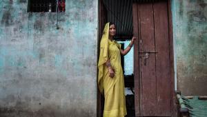 Surbala Vaish, mieszkanka wioski Satnapur w indyjskim stanie Uttar Pradesh